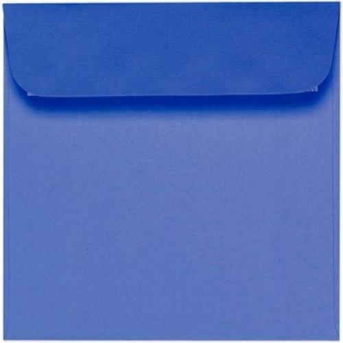 quadratische briefumschl ge 160 x 160 mm blau. Black Bedroom Furniture Sets. Home Design Ideas