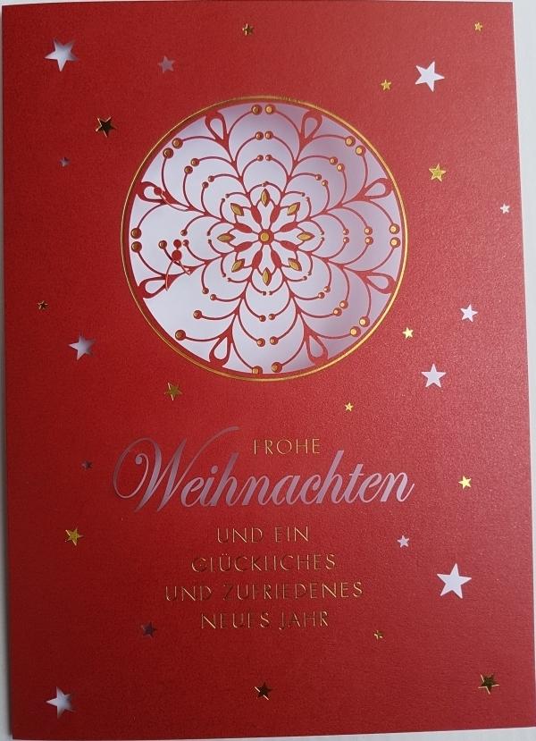 Einlegeblätter Für Weihnachtskarten.Weihnachtskarten Mit Laserausschnitt Und Einlegeblatt