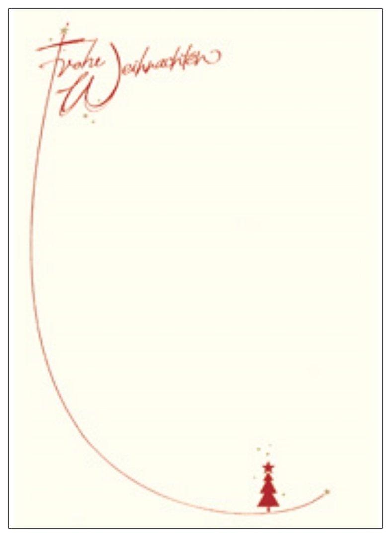 """weihnachts-designblätter din a4 """"frohe weihnachten"""" mit"""