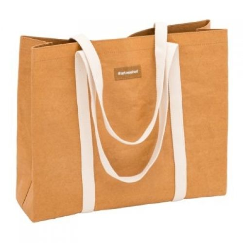 WashPaper Shopping bag L kraft - ARTOZ kraftpapier