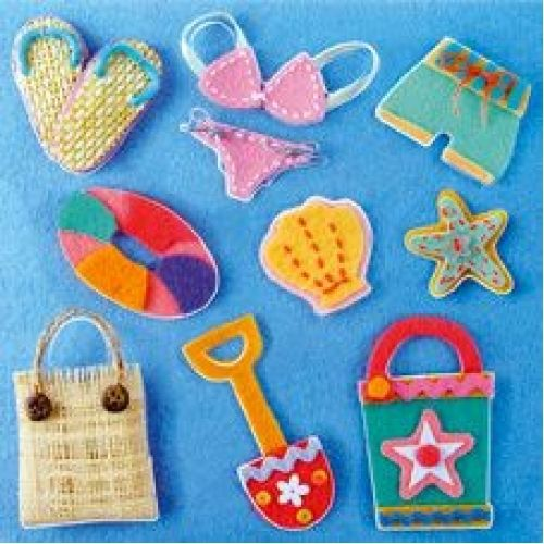 Scrapbooking Sticker - Strand -